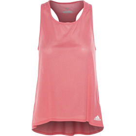 adidas Response Tank Damen real coral/colored heather